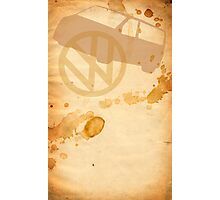 T5 Stained book Photographic Print