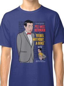 Rebel Without A Bike Classic T-Shirt