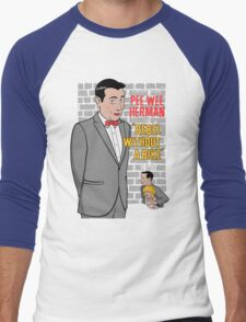 Rebel Without A Bike Men's Baseball ¾ T-Shirt