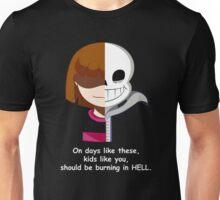 Undertale Sans VS Frisk Unisex T-Shirt