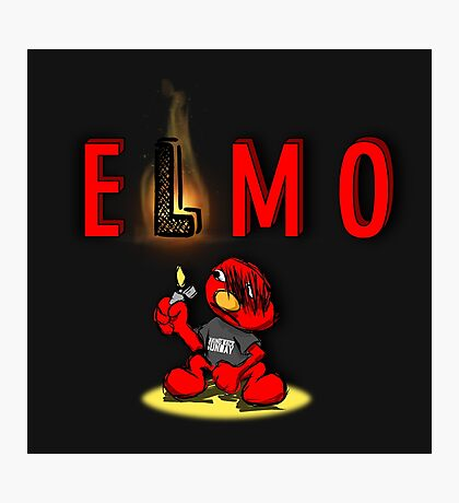 Tickle Me Emo Photographic Print