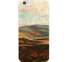 North Yorkshire Landscape - late Winter iPhone Case/Skin