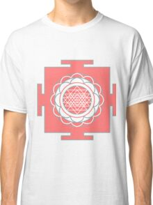 Yantra - cosmic conductor of energy. Yantra Sree . Sacred Geometry Classic T-Shirt