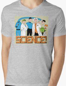 SCIENCE! Mens V-Neck T-Shirt