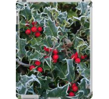 Frost on Holly Hedge iPad Case/Skin