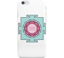 Yantra - cosmic conductor of energy. Yantra Sree . Sacred Geometry iPhone Case/Skin