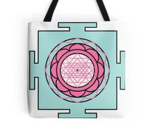 Yantra - cosmic conductor of energy. Yantra Sree . Sacred Geometry Tote Bag