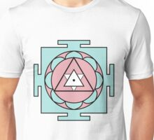 Yantra - cosmic conductor of energy. Yantra Sree . Sacred Geometry Unisex T-Shirt
