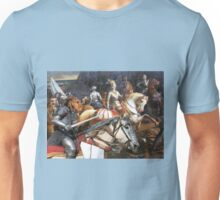 Airedale Terrier Art Canvas Print - Swords and glory Unisex T-Shirt