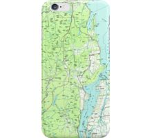 New York NY Lake Champlain South 137305 1986 100000 iPhone Case/Skin