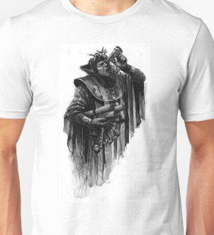 man with parchment Unisex T-Shirt