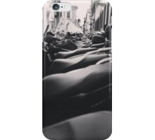 Line Of Bikes iPhone Case/Skin