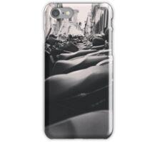 Line Of Bikes iPhone Case/Skin