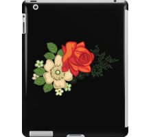 Red Rose and Daisies iPad Case/Skin