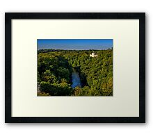 Teifi Valley Fall Framed Print