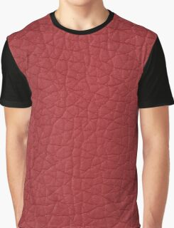 Red leather  Graphic T-Shirt