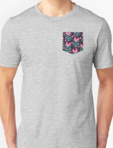 Piranha Plant Faux Pocket T-Shirt