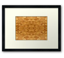 ABSTRACT 493 Framed Print