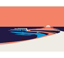 Lyme Regis - The Cobb Photographic Print