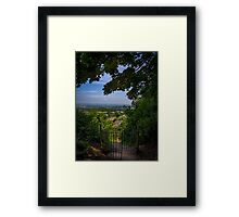 Shaftesbury View Framed Print
