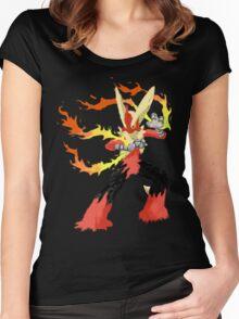 Pokemon - Mega Blaziken Women's Fitted Scoop T-Shirt