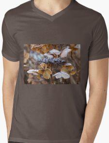 Frost on Hydrangea Mens V-Neck T-Shirt