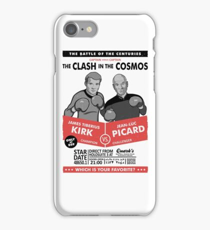 Captain vs. Captain iPhone Case/Skin