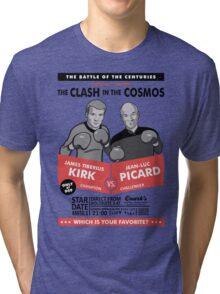 Captain vs. Captain Tri-blend T-Shirt