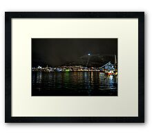 Tromso Harbour Framed Print