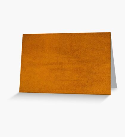 Orange leather texture  Greeting Card