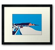 Sidmouth Seascape Framed Print