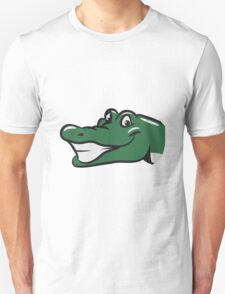 head crocodile funny naughty T-Shirt
