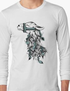 Poetic Llama  Long Sleeve T-Shirt