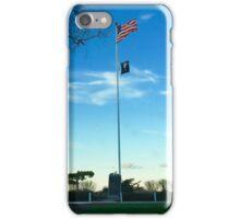 Sag Harbor NY US POW-MIA Flag Patriotism - Hamptons iPhone Case/Skin