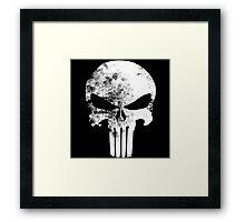 The Punisher Minimalist Framed Print