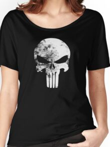 The Punisher Minimalist Women's Relaxed Fit T-Shirt