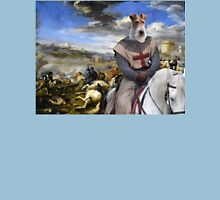 Wire Fox Terrier Art - Scene with infantry Cavalry Unisex T-Shirt