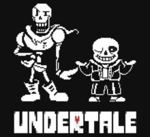 Undertale-Papyrus and Sans One Piece - Short Sleeve