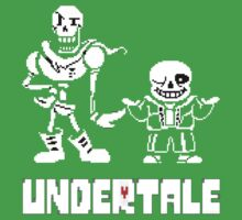 Undertale-Papyrus and Sans Baby Tee