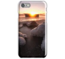 Cold Lake Superior Morning  iPhone Case/Skin