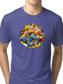 Pokemon plushies  Tri-blend T-Shirt
