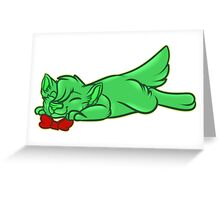 Jelly Cat Greeting Card