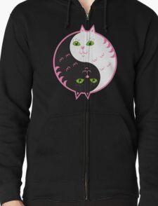 Cute cats yin yang  T-Shirt