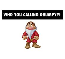 Who you calling grumpy?! Photographic Print