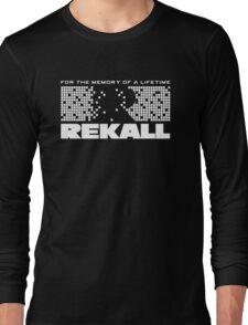 Rekall - Total Recall (White) Long Sleeve T-Shirt