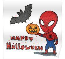 Spider-Halloween Poster