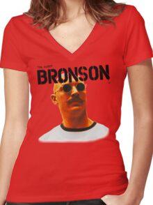 Bronson - Tom Hardy - T Shirt  Women's Fitted V-Neck T-Shirt