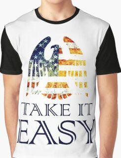 Take It Easy ~ Eagles Graphic T-Shirt