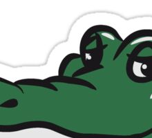 Crocodile funny naughty joint kiffen head Sticker