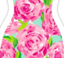Lilly Pulitzer Inspired Dress First Impression Sticker